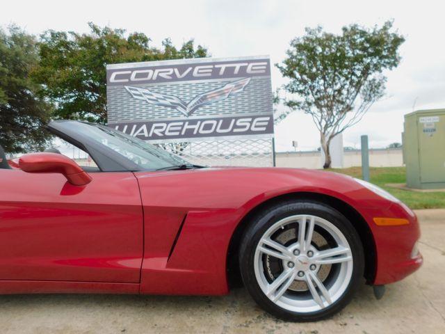 2008 Chevrolet Corvette CONV 3LT, Z51, NAV, Power Top, Auto, Alloys 34k in Dallas, Texas 75220