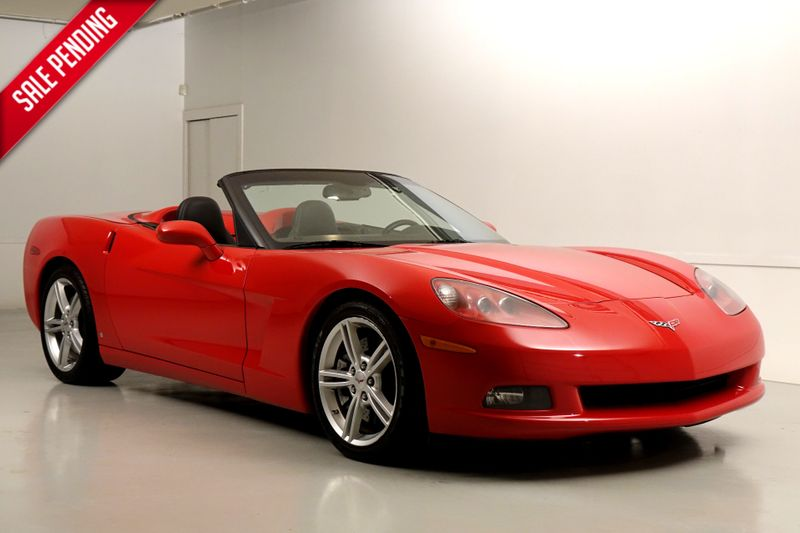 2008 Chevrolet Corvette* Performance Pkg* 3LT* Dual Mode Performance Exhaust* Power Top*** | Plano, TX | Carrick's Autos in Plano TX