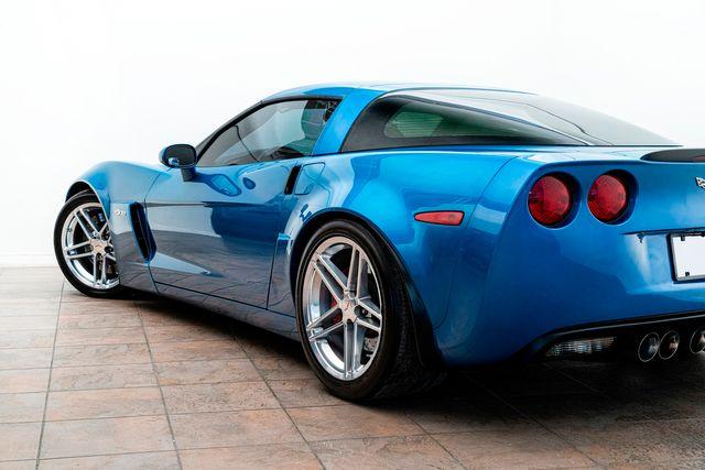 2008 Chevrolet Corvette Z06 In Jetstream Blue Metallic Heads/Cam Many Upgrades in Addison, TX 75001