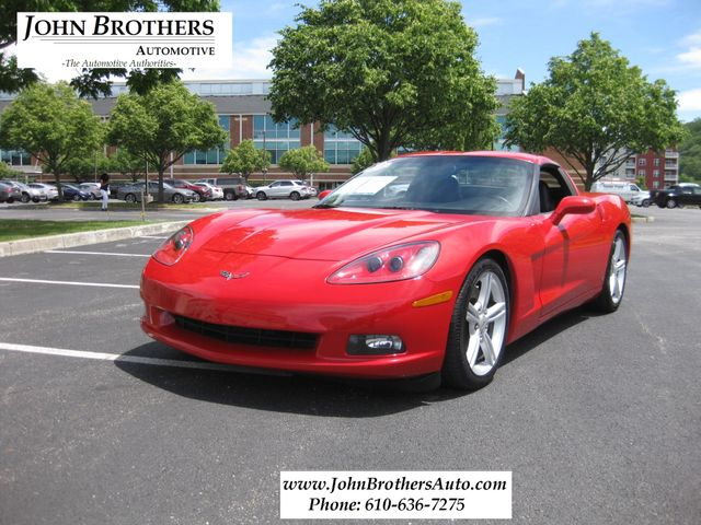 2008 Sold Chevrolet Corvette Z51 Conshohocken, Pennsylvania