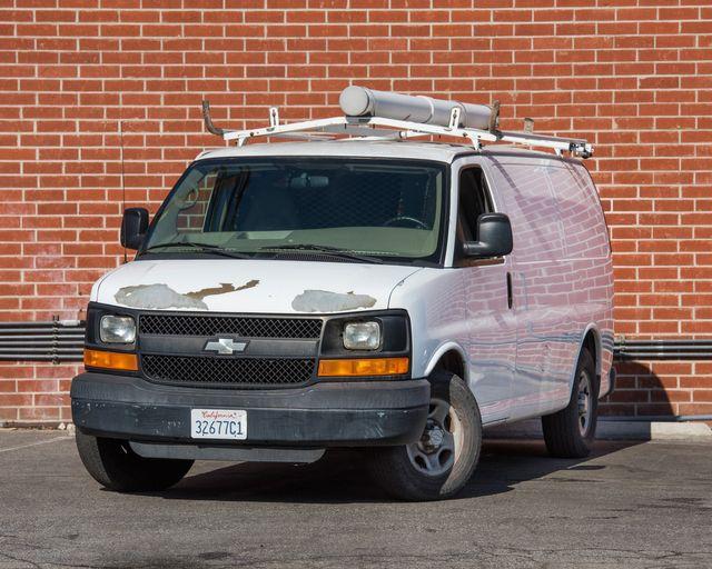 2008 Chevrolet Express Cargo Van Burbank, CA 1