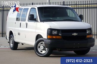 2008 Chevrolet Express 2500 Cargo Van One Owner Clean Carfax 17 Service Records in Plano Texas, 75093