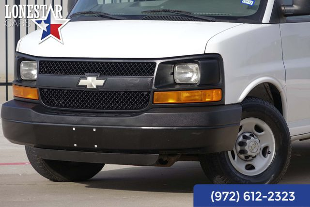 2008 Chevrolet Express 2500 Cargo Van One Owner Clean Carfax 17 Service Records in Carrollton, TX 75006