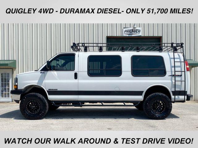 2008 Chevrolet Express Van Quigley 4x4 Duramax diesel