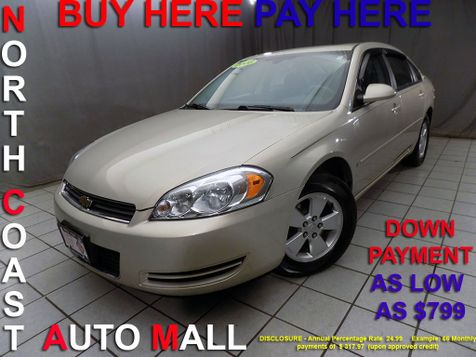 2008 Chevrolet Impala LTAs low as $799 DOWN in Cleveland, Ohio