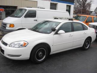 2008 Chevrolet Impala Police w/ Equipment Patrol Ready LED lightbar 2 Digital Cameras Radio St. Louis, Missouri 36