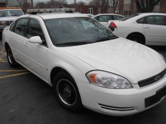2008 Chevrolet Impala Police w/ Equipment Patrol Ready LED lightbar 2 Digital Cameras Radio St. Louis, Missouri 43