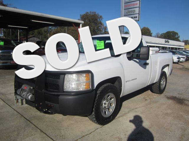 2008 Chevrolet Silverado 1500 Work Truck 4x4 Houston, Mississippi