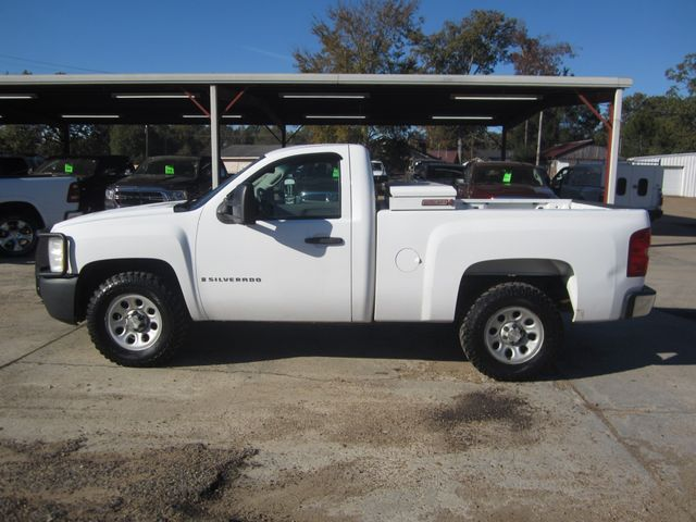 2008 Chevrolet Silverado 1500 Work Truck 4x4 Houston, Mississippi 1