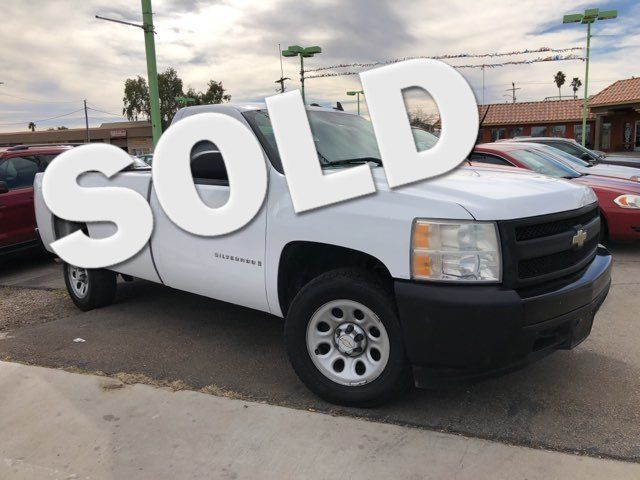 2008 Chevrolet Silverado 1500 Work Truck CAR PROS AUTO CENTER (702) 405-9905 Las Vegas, Nevada
