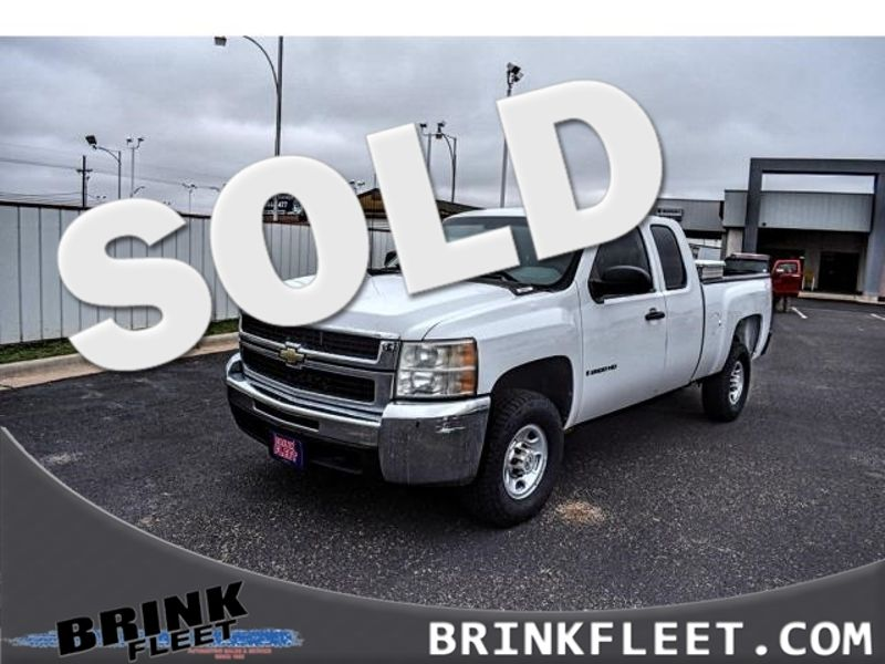2008 Chevrolet Silverado 2500hd Work Truck Lubbock Tx Brink Fleet In