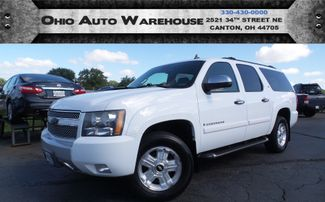 2008 Chevrolet Suburban Z71 4x4 Leather Sunroof Clean Carfax We Finance | Canton, Ohio | Ohio Auto Warehouse LLC in Canton Ohio