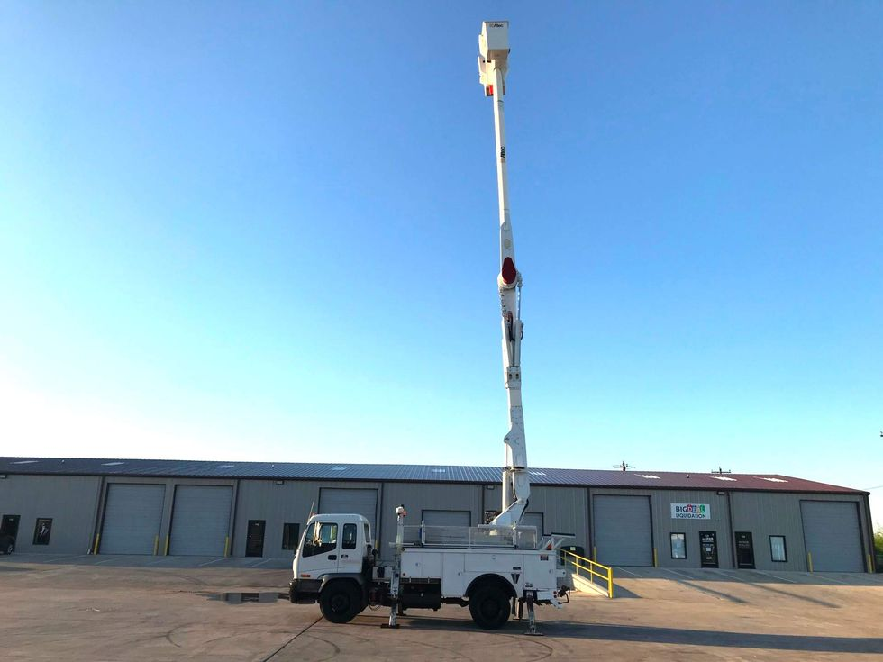 2008 Chevrolet T8500 Bucket Truck Ft Worth Tx Lone Star