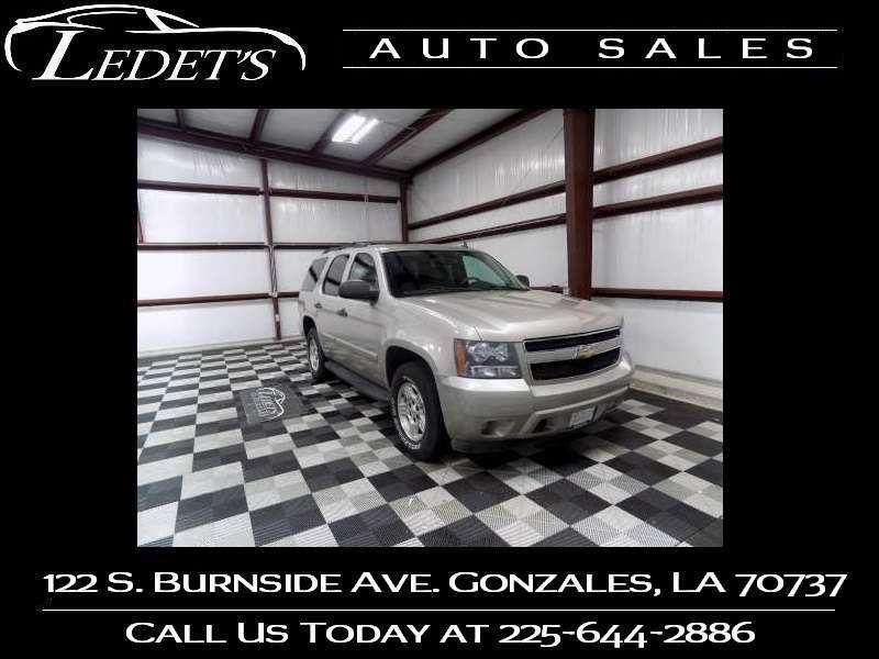 2008 Chevrolet Tahoe LS - Ledet's Auto Sales Gonzales_state_zip in Gonzales Louisiana