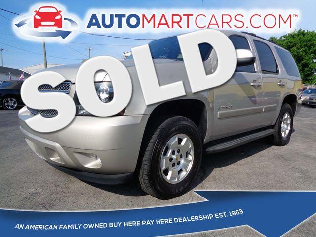 2008 Chevrolet Tahoe LT w/1LT   Nashville, Tennessee   Auto Mart Used Cars Inc. in Nashville Tennessee