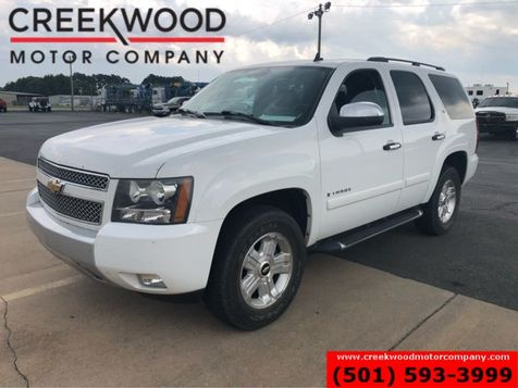 2008 Chevrolet Tahoe LT Z71 White Leather Nav Roof Tv Dvd 1 Owner Clean in Searcy, AR