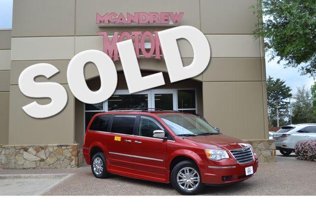 2008 Chrysler Town & Country Limited Handicap Van Rollex in Arlington, TX Texas, 76013