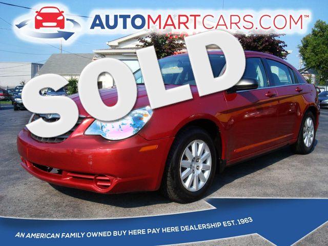 2008 Chrysler Sebring LX   Nashville, Tennessee   Auto Mart Used Cars Inc. in Nashville Tennessee