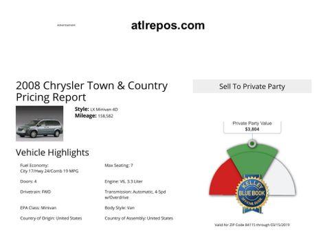 2008 Chrysler Town & Country LX in Salt Lake City, UT