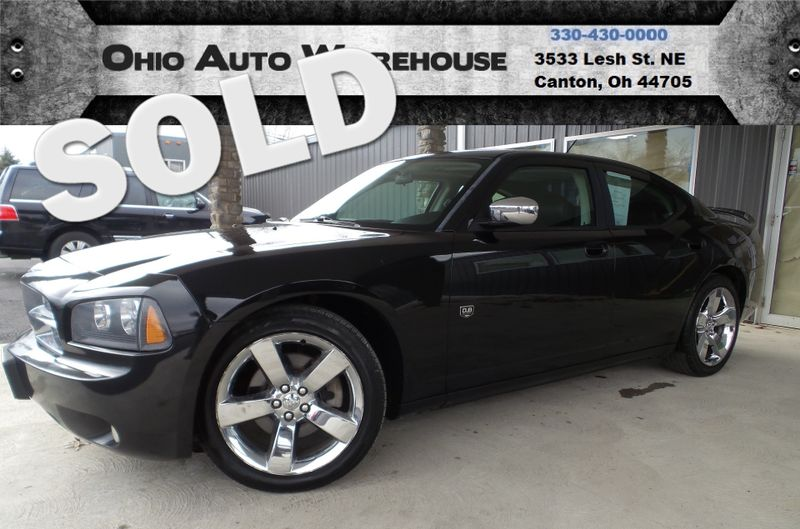 2008 Dodge Charger SXT Sunroof Leather 1-Own Cln Carfax We Finance | Canton, Ohio | Ohio Auto Warehouse LLC in Canton Ohio