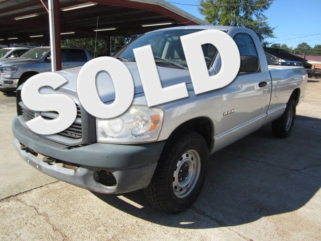 2008 Dodge Ram 1500 ST Reg Cab 4x4 Houston, Mississippi