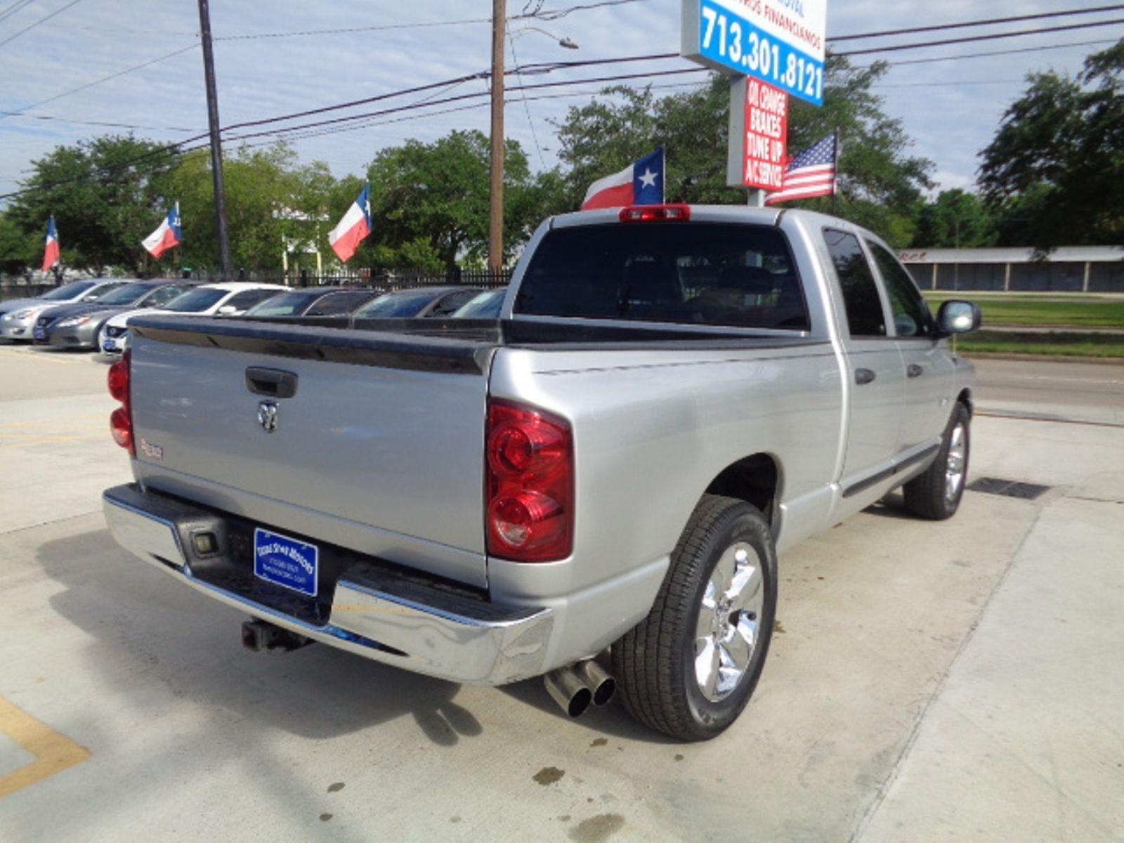 2008 Dodge Ram 1500 St City Tx Texas Star Motors Motor In Houston