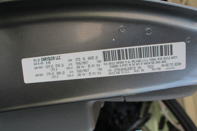 2008 Dodge Ram 1500 REG CAB RWD - POPULAR EQUIPMENT GROUP Mooresville , NC 34