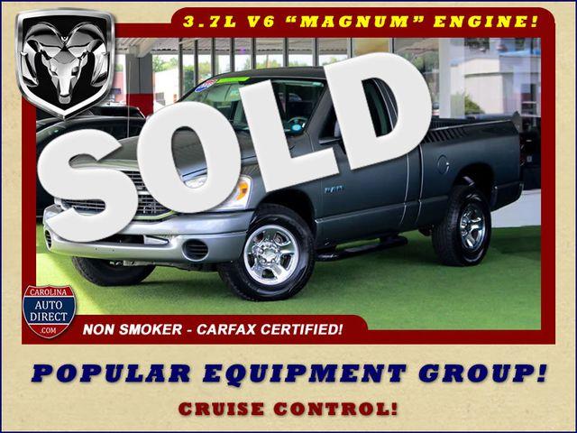 2008 Dodge Ram 1500 REG CAB RWD - POPULAR EQUIPMENT GROUP Mooresville , NC
