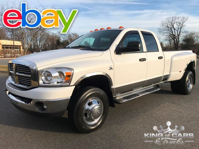 2008 Dodge Ram 3500 Cummins Diesel 6SPD MANUAL 4X4 SLT 28K MILES