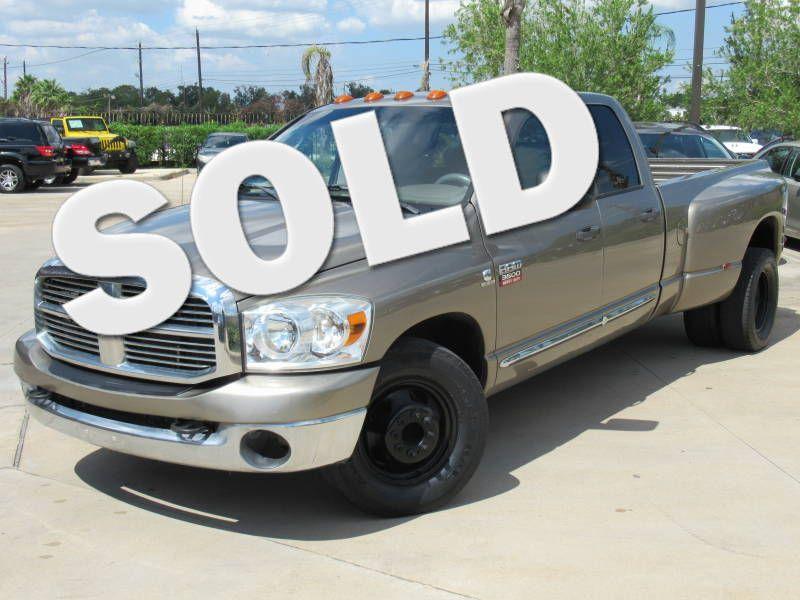 2008 Dodge Ram 3500 SLT Dually    Houston, TX   American Auto Centers in Houston TX