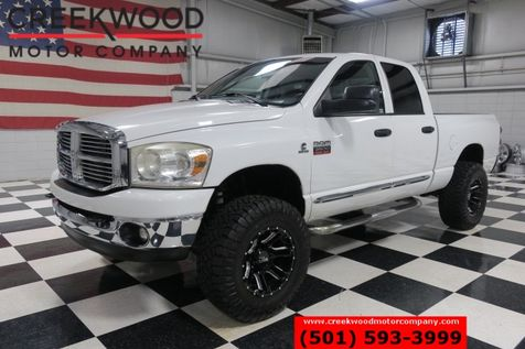 2008 Dodge Ram 3500 SLT 4x4 Diesel Auto White New Tires H&S Mini Max in Searcy, AR