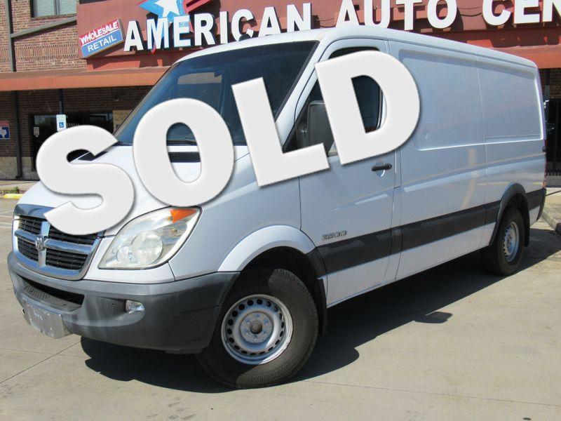 2008 Dodge Sprinter 2500 Cargo Van   Houston, TX   American Auto Centers in Houston TX
