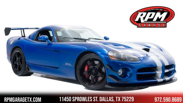 2008 Dodge Viper SRT10 with Many Upgrades