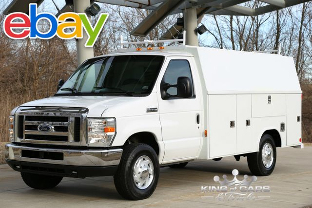 2008 Ford E-350 Abc Enclosed Utility Econoline Commercial Cutaway