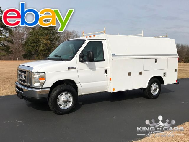 2008 Ford E-Series E350 Utility / SERVICE READING WALK-IN VAN LOW MILES