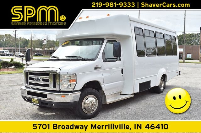 """2008 Ford Econoline Commercial Cutaway E350 Chassis Van 176"""" DRW"""
