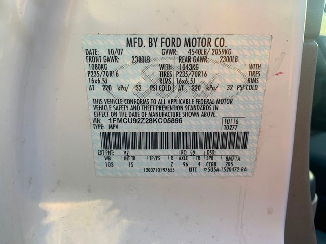 2008 Ford Escape XLS Hoosick Falls, New York 7