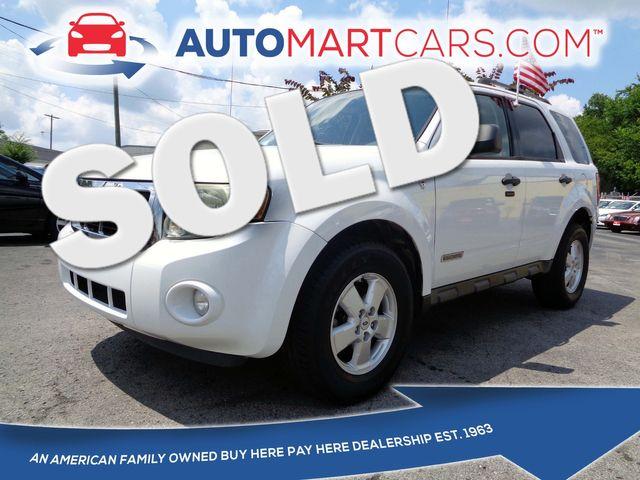 2008 Ford Escape XLT   Nashville, Tennessee   Auto Mart Used Cars Inc. in Nashville Tennessee