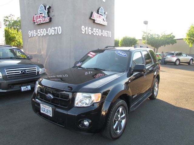 2008 Ford Escape Limited 4 x 4