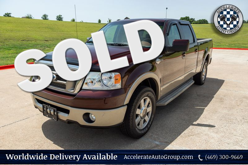 2008 Ford F-150 King Ranch 4X4 NAV NICE! in Rowlett Texas