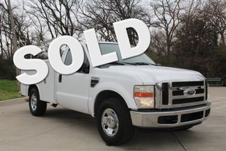 2008 Ford F250 XLT SRW Service Utility Contractor Work Truck W/ Ladder Rack Irving, Texas