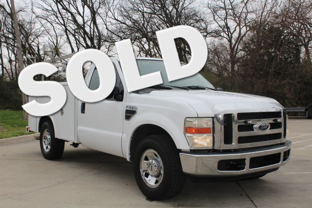 2008 Ford F250 XLT SRW Service Utility Contractor Work Truck W/ Ladder Rack Irving, Texas 0