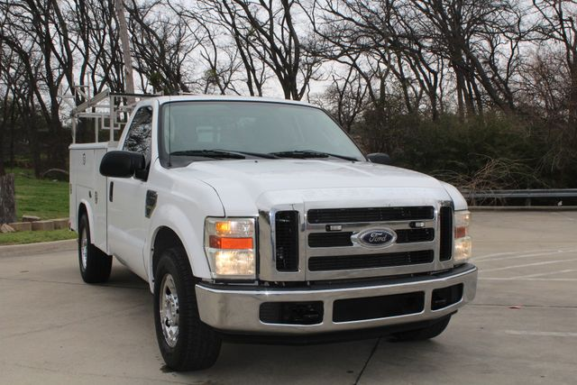 2008 Ford F250 XLT SRW Service Utility Contractor Work Truck W/ Ladder Rack Irving, Texas 1