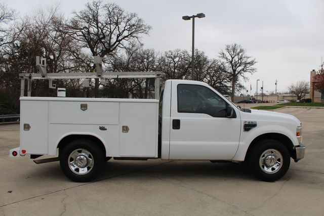 2008 Ford F250 XLT SRW Service Utility Contractor Work Truck W/ Ladder Rack Irving, Texas 12