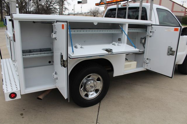 2008 Ford F250 XLT SRW Service Utility Contractor Work Truck W/ Ladder Rack Irving, Texas 18