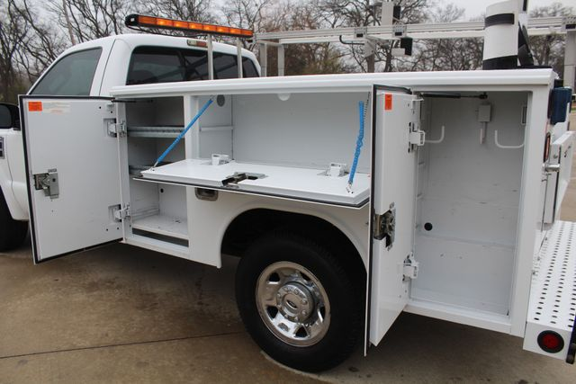 2008 Ford F250 XLT SRW Service Utility Contractor Work Truck W/ Ladder Rack Irving, Texas 23