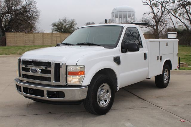 2008 Ford F250 XLT SRW Service Utility Contractor Work Truck W/ Ladder Rack Irving, Texas 4