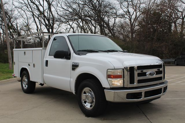 2008 Ford F250 XLT SRW Service Utility Contractor Work Truck W/ Ladder Rack Irving, Texas 49