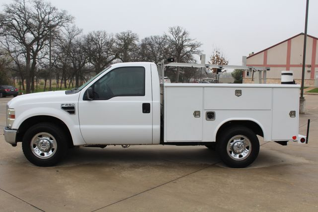 2008 Ford F250 XLT SRW Service Utility Contractor Work Truck W/ Ladder Rack Irving, Texas 5