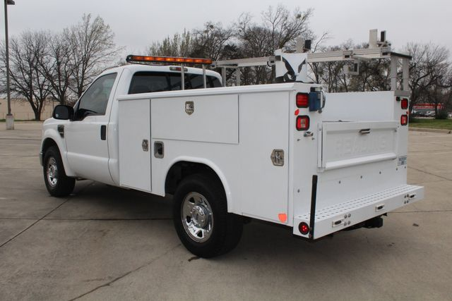 2008 Ford F250 XLT SRW Service Utility Contractor Work Truck W/ Ladder Rack Irving, Texas 6